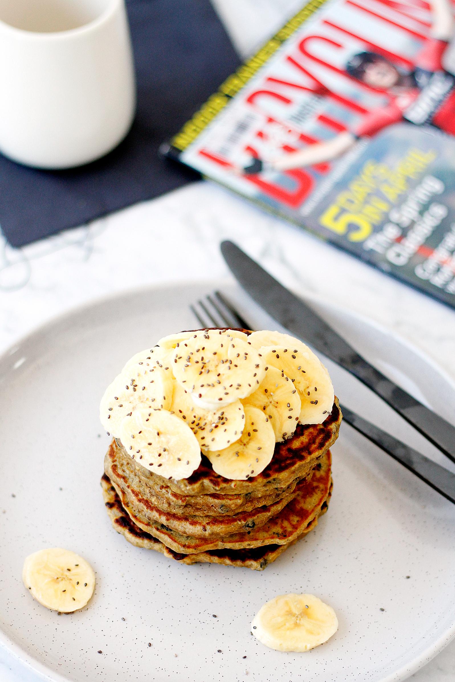 Kirrily's Buckwheat Banana Pancakes